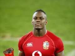 Maro Itoje, pictured, has been hailed as delivering the best performance of his career for the British and Irish Lions (Steve Haag)