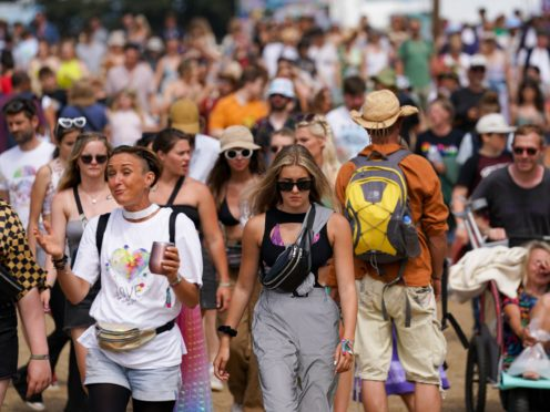Around 40,000 people attended Latitude Festival (Jacob King/PA)