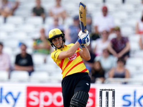 Nat Sciver hopes her decision to go public about her relationship with England team-mate Katherine Brunt has encouraged others to follow in their footsteps (Tim Goode/PA)