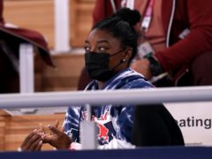 Simone Biles has thanked friends and family for their support (Mike Egerton/PA)