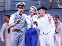 Robert Lindsay has said he 'lost it completely' as he was 'so emotional' on the opening night of Anything Goes' West End debut (Ian West/PA)