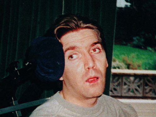 Undated file photo of Andrew Devine (then aged 30) after emerging from an eight-year vegetative state following the Hillsborough disaster (Family handout/PA)