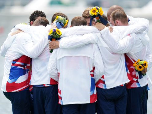 Great Britain's men's eight team secured a bronze on the final day of the regatta (Mike Egerton/PA)
