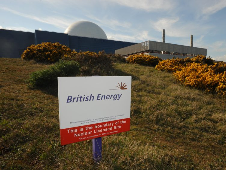 A general view of Sizewell B nuclear power station, Sizewell, Suffolk (Fiona Hanson/PA)