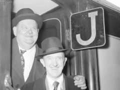 Comedy duo Laurel and Hardy were were known for slapstick comedy short films from the 1920s to 1940s. (PA)