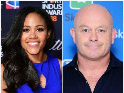 Alex Scott and Ross Kemp are set to be the faces of two new BBC game shows (Ian West/PA)