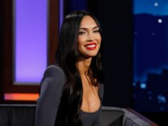 Actress Megan Fox said she 'went to Hell for eternity' after taking a powerful hallucinogenic in Costa Rica with boyfriend Machine Gun Kelly (ABC/Randy Holmes)