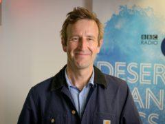 Robert Macfarlane was interviewed on Desert Island Discs (BBC/PA)