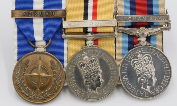 Medals belonging to Scots soldier seriously injured in Afghanistan find new home at military museum