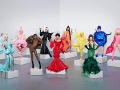 Cast of RuPaul's Drag Race UK series 2, featuring Tia Kofi (Ray Burmiston/PA)