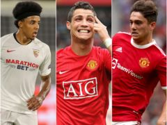 Cristiano Ronaldo, Jules Kounde and Daniel James could be the big movers as the window closes (Martin Rickett/PA)