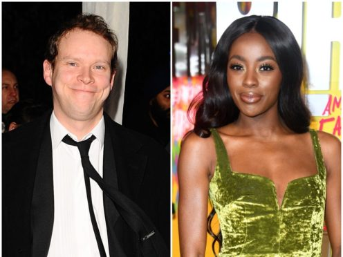 Robert Webb and AJ Odudu are among the celebrities taking to the Strictly dancefloor this year (PA)