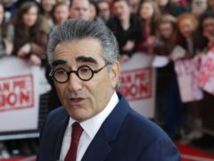 Dan and Eugene Levy have announced a farewell tour to celebrate the end of acclaimed comedy Schitt's Creek has been cancelled amid a spike in Covid-19 cases (Niall Carson/PA)