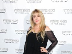 Stevie Nicks said she 'saved' herself from drugs, as the Fleetwood Mac star reflected on her substance abuse issues (Ian West/PA)