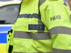 Police said the child was taken to hospital (Joe Giddens/PA)