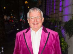 Christopher Biggins has said that theatres need tourists to return to revive the industry (Dominic Lipinski/PA)