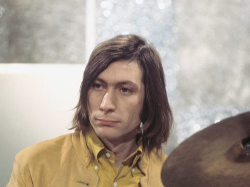 The Rolling Stones have released a video tribute to Charlie Watts, following the drummer's death aged 80 this week (PA)