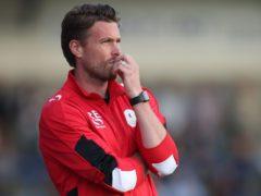 AFC Telford United Manager Rob Edwards during the pre-season friendly at New Bucks Head, Telford