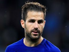 Cesc Fabregas says there is plenty of excitement in Ligue 1 about Lionel Messi's arrival (Martin Rickett/PA)
