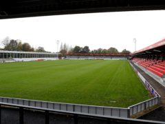 Salford face Newport on Saturday (Martin Rickett/PA)