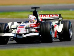 Jenson Button won his first race at the 113th attempt in Hungary in 2006 (Rui Vieira/PA)