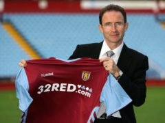 Former Celtic boss Martin O'Neill was confirmed as the new manager of Aston Villa on this day in 2006 (David Davies/PA)