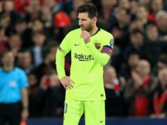 Lionel Messi is set to leave Barcelona (Peter Byrne/PA)