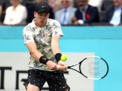 Kyle Edmund has not played since October (Steven Paston/PA)