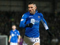 St Johnstone's Michael O'Halloran is looking to use his experience (Jeff Holmes/PA)