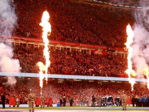 The Principality Stadium could be full this autumn (Adam Davy/PA)