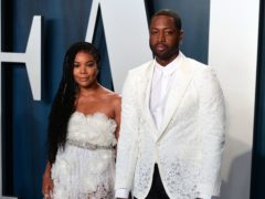 Gabrielle Union has celebrated her seventh wedding anniversary with Dwyane Wade (Ian West/PA)