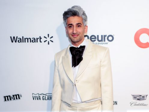 Queer Eye star Tan France has criticised a lack of diversity in the UK TV industry (PA)