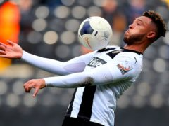Kyle Wootton headed home Notts County's second-half equaliser (Mike Egerton/PA)