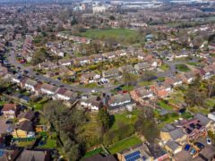 Leverstock Green, Hemel Hempstead. The average number of homes for sale per estate agency branch has fallen by 40% since January, according to Propertymark (Steve Parsons/PA)