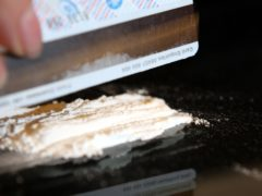 There has been a rise in cocaine-related deaths (Steve Parsons/PA)