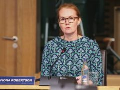 Fiona Robertson discussed the future of Scottish education (Fraser Bremner/PA)