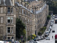Privately rented homes are among the least energy efficient (Jane Barlow/PA)