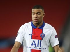 Kylian Mbappe is a target for Real Madrid (Martin Rickett/PA)