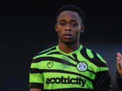 Udoka Godwin-Malife suffered an injury (Simon Galloway/PA)