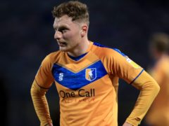 George Maris scored for Mansfield (Mike Egerton/PA)