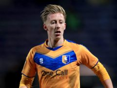 Mansfield's Harry Charsley has been sidelined by a thigh problem (Mike Egerton/PA)
