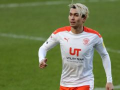 Kenny Dougall will be pushing for more game time for Blackpool (Richard Sellers/PA)