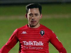 Ian Henderson was on target for Salford against Newport (Simon Marper/PA)