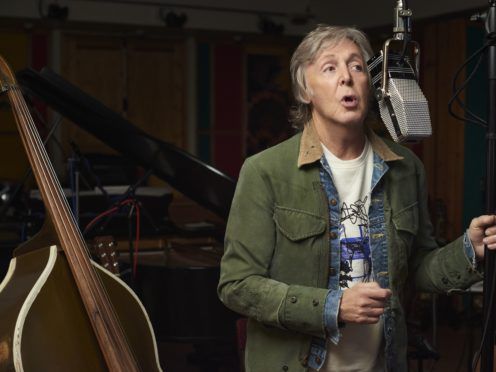 Sir Paul McCartney's new book will contain the lyrics to an unreleased Beatles song (Mary McCartney/PA)