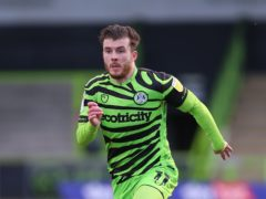 Nicky Cadden starred for Forest Green (Nigel French/PA)
