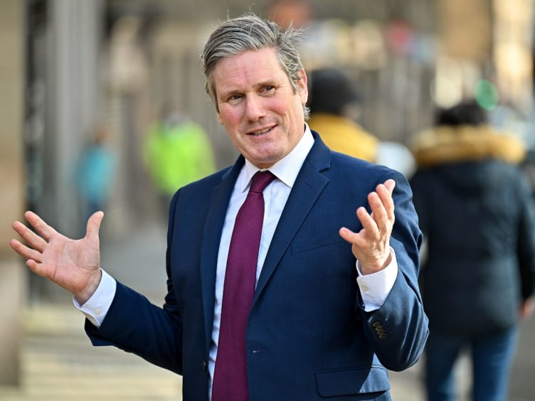 Labour leader Sir Keir Starmer has ruled out any pre-election deal with the SNP on the constitution (Jeff J Mitchell/PA)