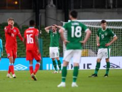 The Republic of Ireland slipped to an embarrassing home defeat by Luxembourg in their last World Cup qualifier (Brian Lawless/PA)