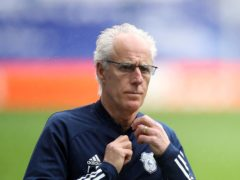 Mick McCarthy wanted to welcome Cardiff fans back with a home win (Nick Potts/PA)