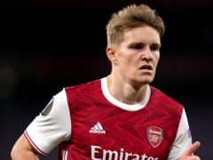 Martin Odegaard could be in line for a return to Arsenal. (John Walton/PA)