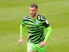 Baily Cargill could make his first start of the season for Forest Green (Tim Markland/PA)